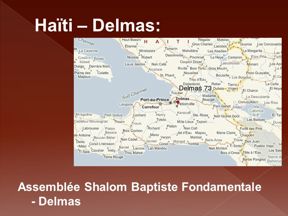 Haïti – Delmas: Assemblée Shalom Baptiste Fondamentale - Delmas