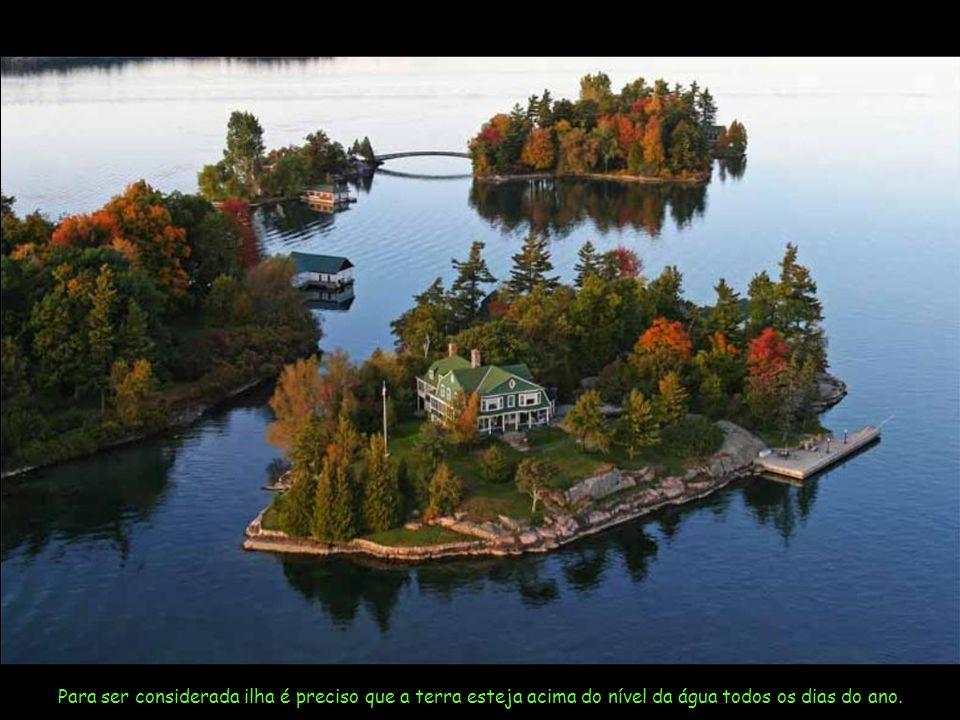 O último censo indicou haver um total de 1.865 ilhas neste trecho do rio.