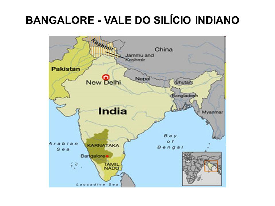 BANGALORE - VALE DO SILÍCIO INDIANO
