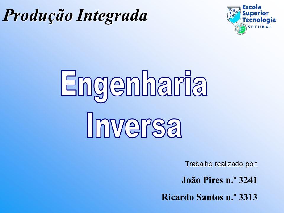 Produção Integrada Trabalho realizado por: João Pires n.º 3241 Ricardo Santos n.º 3313