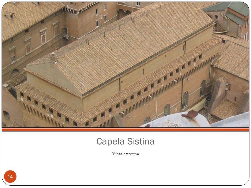 Capela Sistina Vista externa 14