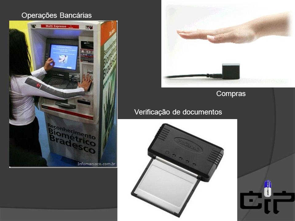Compras Operações Bancárias Verificação de documentos