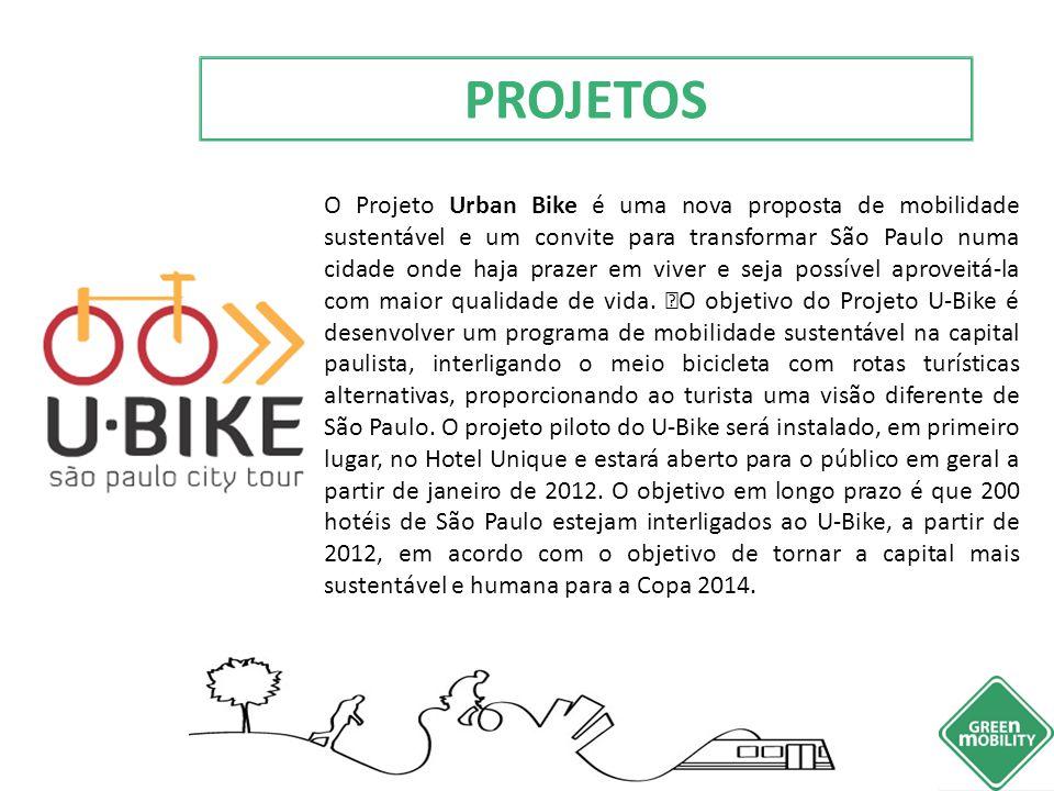 O Projeto Urban Bike é uma nova proposta de mobilidade sustentável e um convite para transformar São Paulo numa cidade onde haja prazer em viver e sej