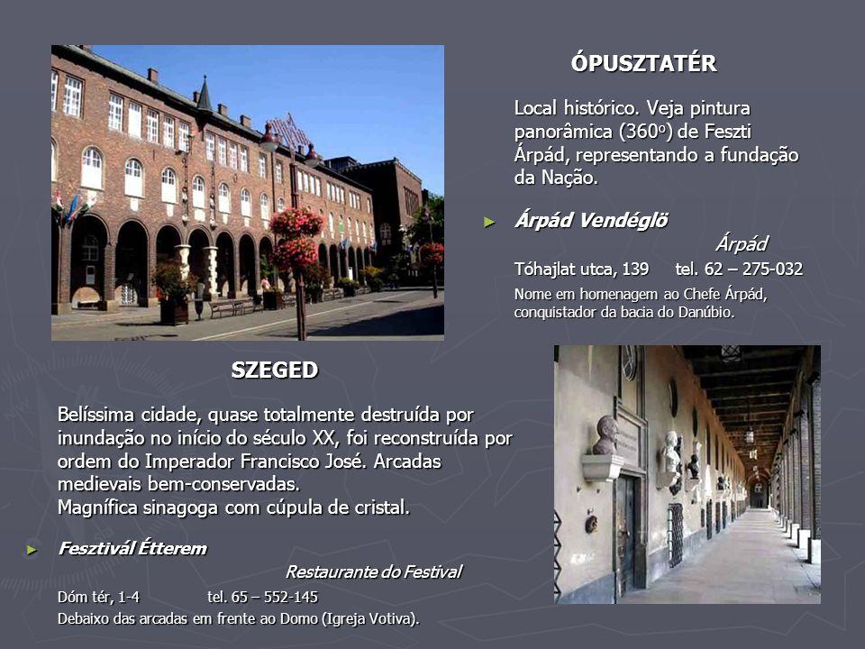 ÓPUSZTATÉR Local histórico.