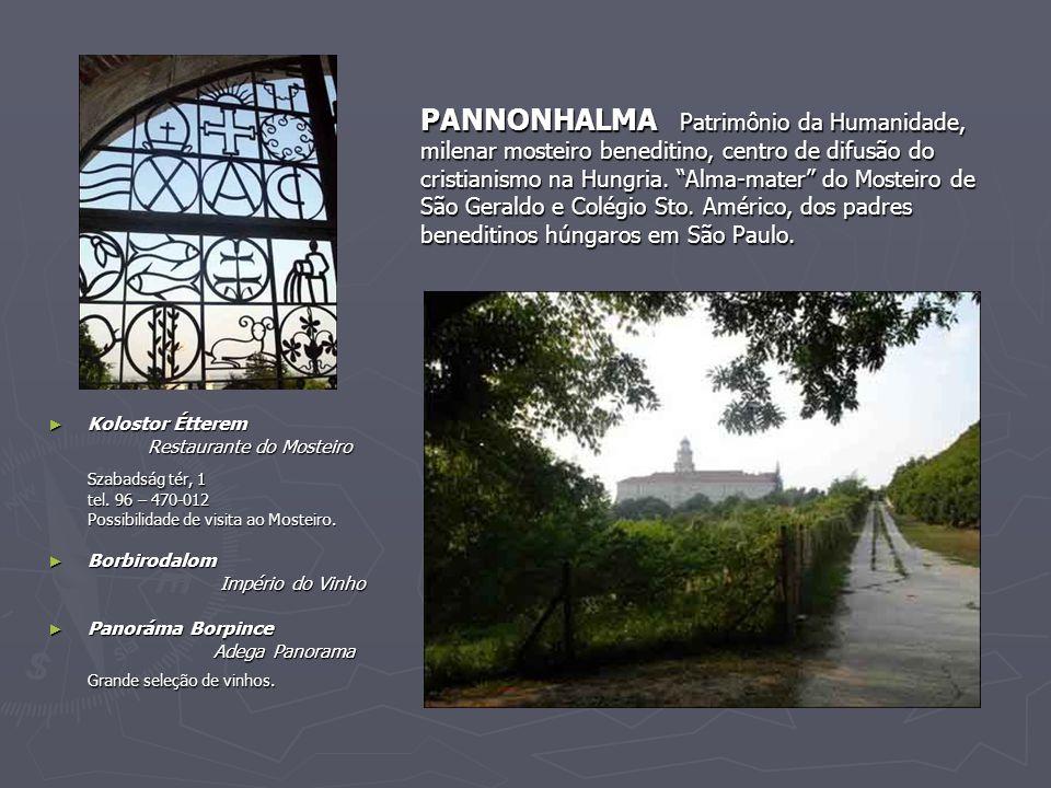 """PANNONHALMA Patrimônio da Humanidade, milenar mosteiro beneditino, centro de difusão do cristianismo na Hungria. """"Alma-mater"""" do Mosteiro de São Geral"""