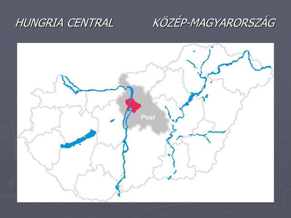 HUNGRIA CENTRAL KÖZÉP-MAGYARORSZÁG