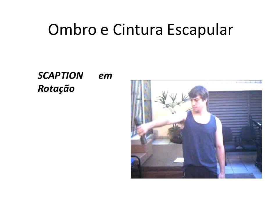 Ombro e Cintura Escapular SCAPTION em Rotação Medial