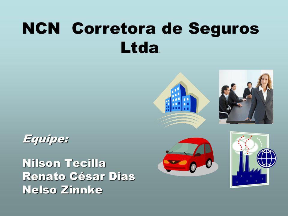 Equipe: Nilson Tecilla Renato César Dias Nelso Zinnke NCN Corretora de Seguros Ltda.