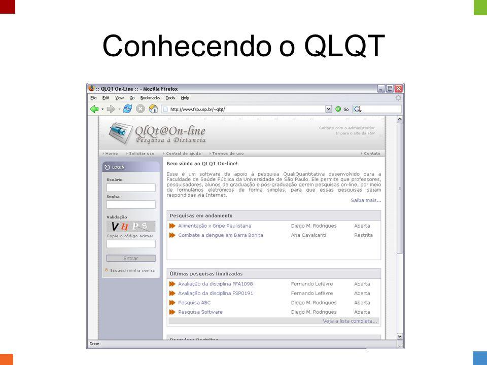 Conhecendo o QLQT