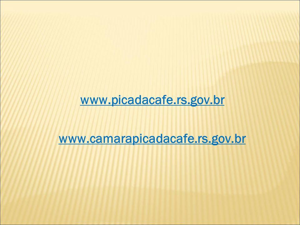 www.picadacafe.rs.gov.br www.camarapicadacafe.rs.gov.br
