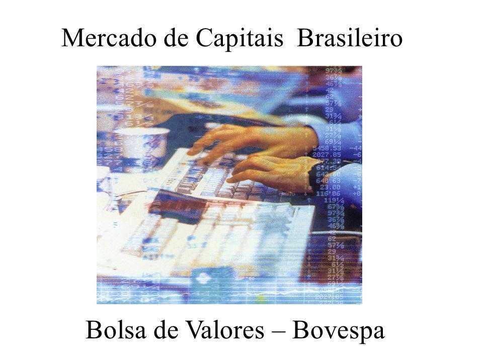 Bolsa de Valores – Bovespa Mercado de Capitais Brasileiro