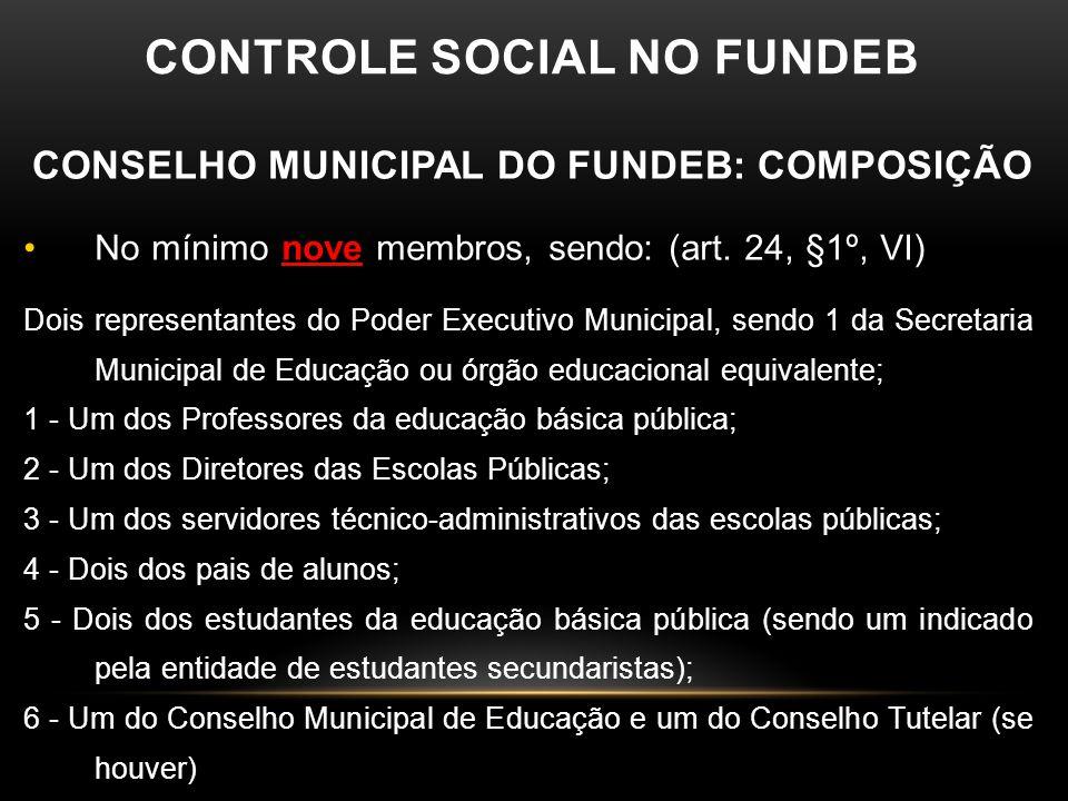 """CONTROLE SOCIAL  """"O Conselho Municipal se insere na estrutura de ensino do município como um instrumento de gestão democrática que permite uma integr"""