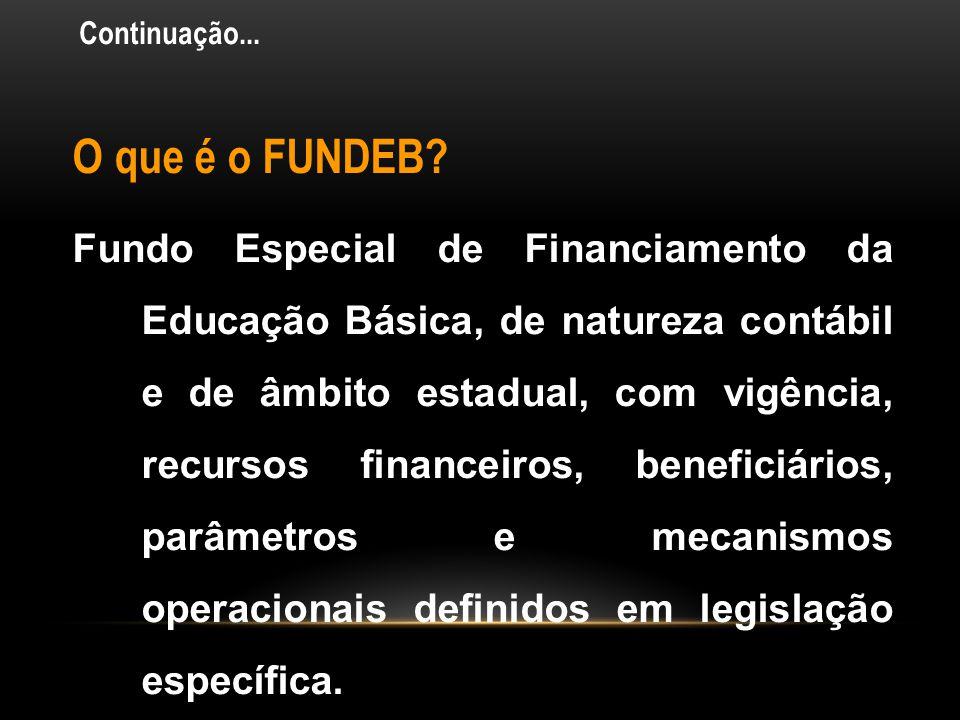 • A partir de 2009 os recursos vinculados a educação estarão divididos em três contas: • Conta do FUNDEB, onde no mínimo 60% devem ser gastos com prof