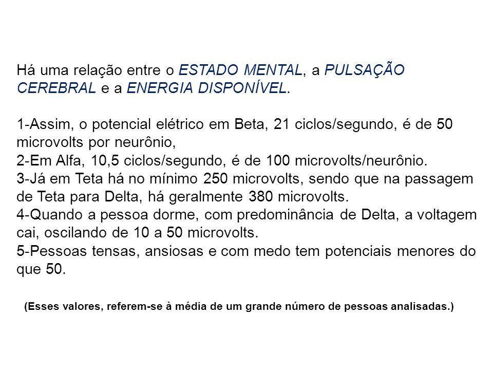 Referências A Atividade Cerebral e os Estados Mentais Prof.