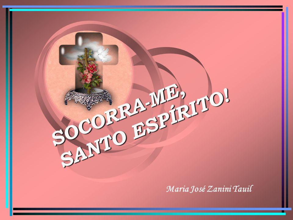 SOCORRA-ME, SANTO ESPÍRITO! Maria José Zanini Tauil