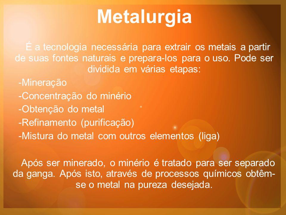 Ligas As ligas são materiais com propriedades metálicas que contêm dois ou mais elementos químicos sendo que pelo menos um deles é metal.