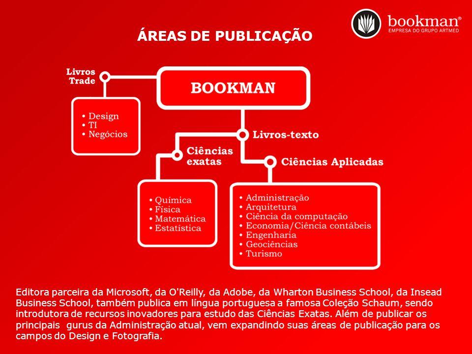 Editora parceira da Microsoft, da O'Reilly, da Adobe, da Wharton Business School, da Insead Business School, também publica em língua portuguesa a fam