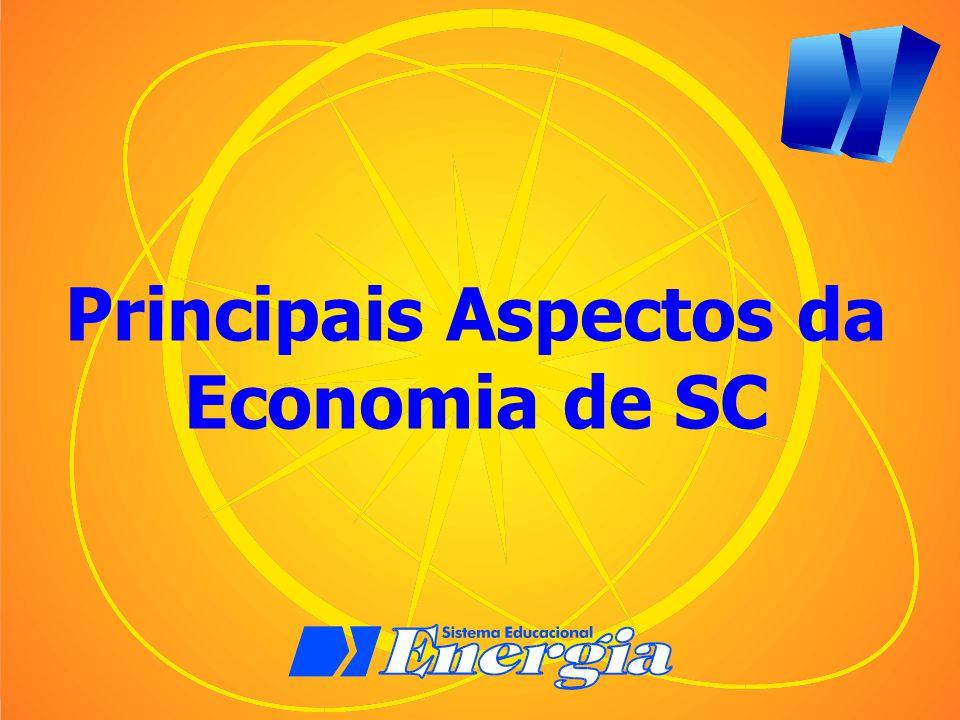 Distribuição das Indústrias em SC Parque industrial diversificado, inovador equilibrado e entre as regiões.