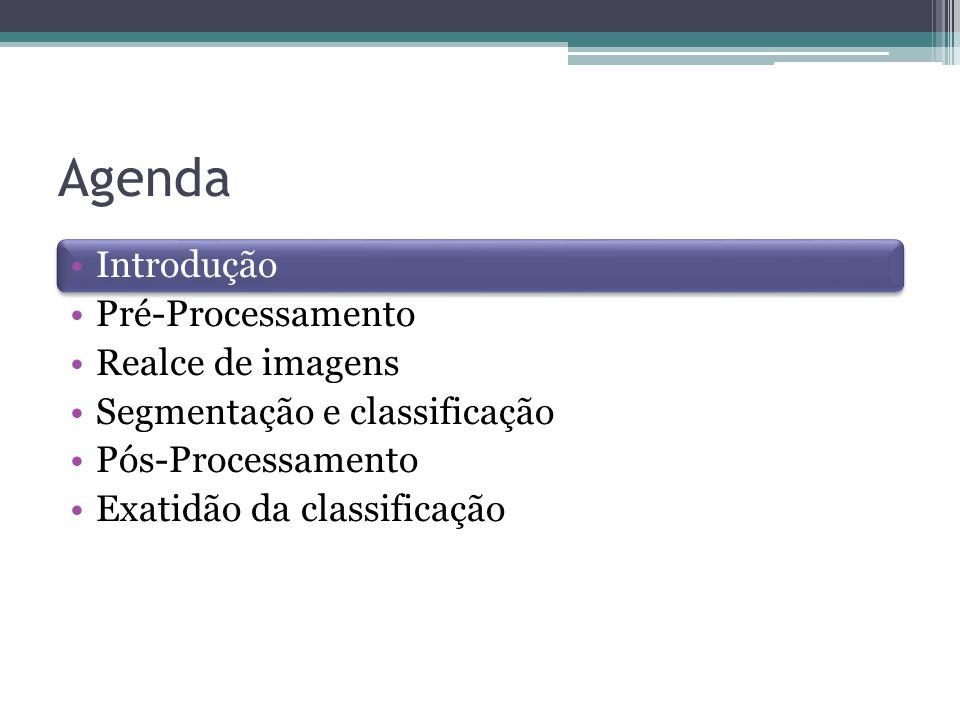 Pós-Processamento ▫Corrigir erros resultantes da classificação automática ▫Spring -> Edição matricial´: um recurso computacional disponível no sistema.