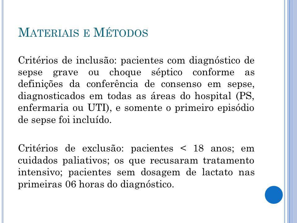 - O metabolismo do lactato pode sofrer interferência nos quadros sépticos quando há lesão renal.