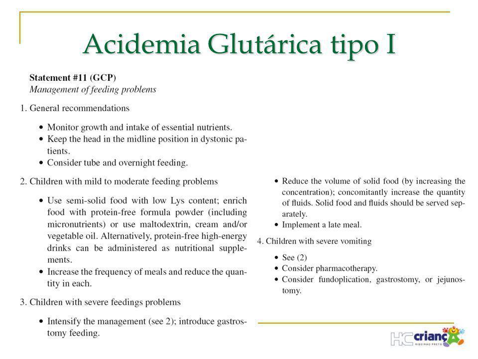 Acidemia Glutárica tipo I
