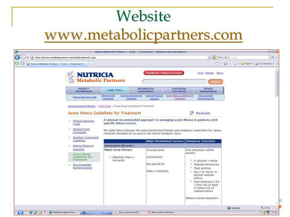 Website www.metabolicpartners.com www.metabolicpartners.com