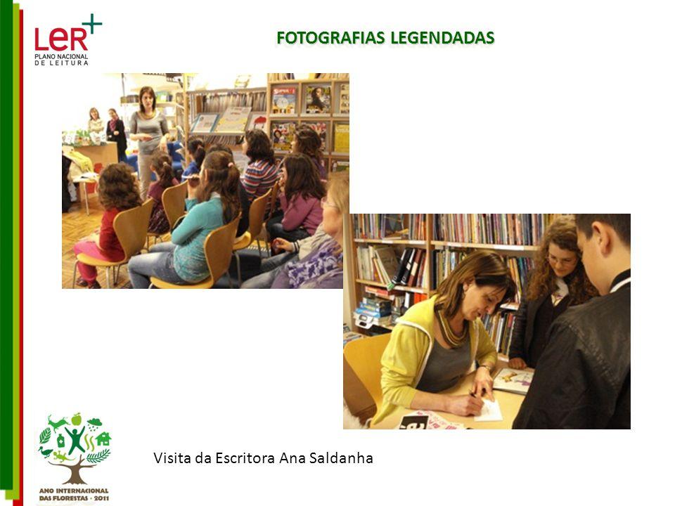 FOTOGRAFIAS LEGENDADAS Visita da Escritora Ana Saldanha