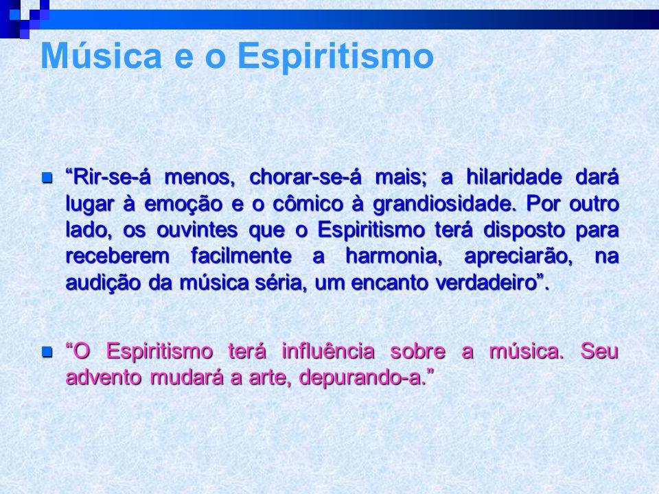 A música espírita 