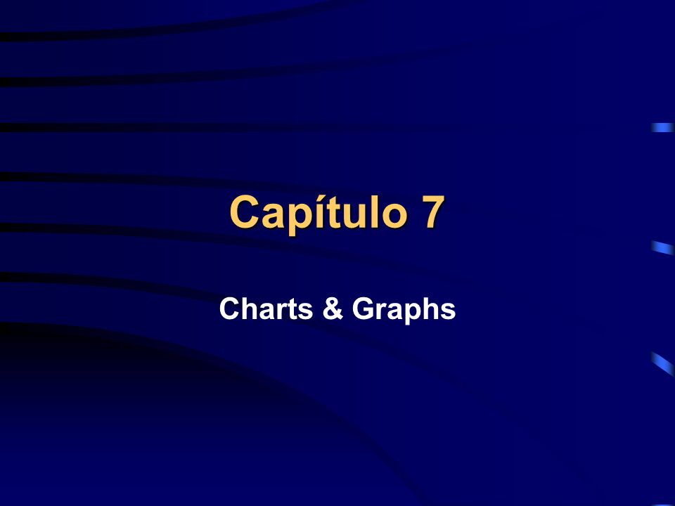 Capítulo 7 Charts & Graphs