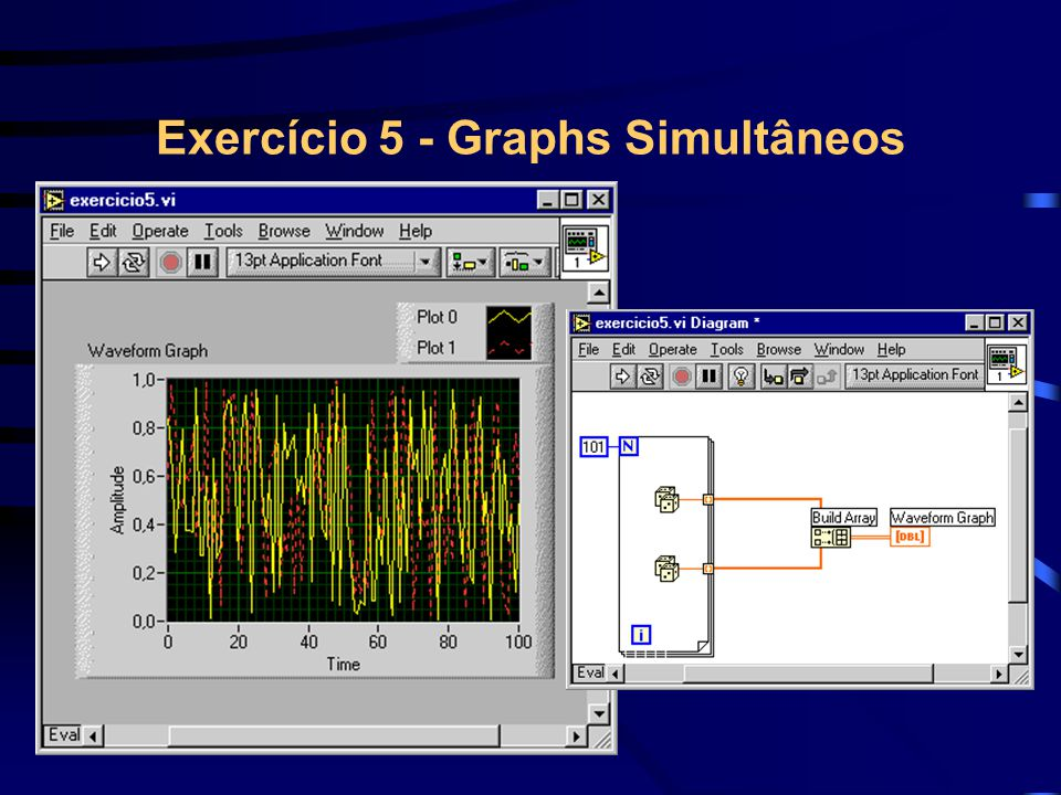 Exercício 5 - Graphs Simultâneos