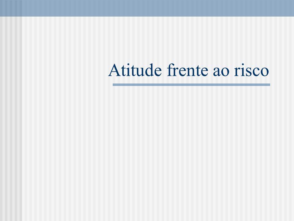 Atitude frente ao risco