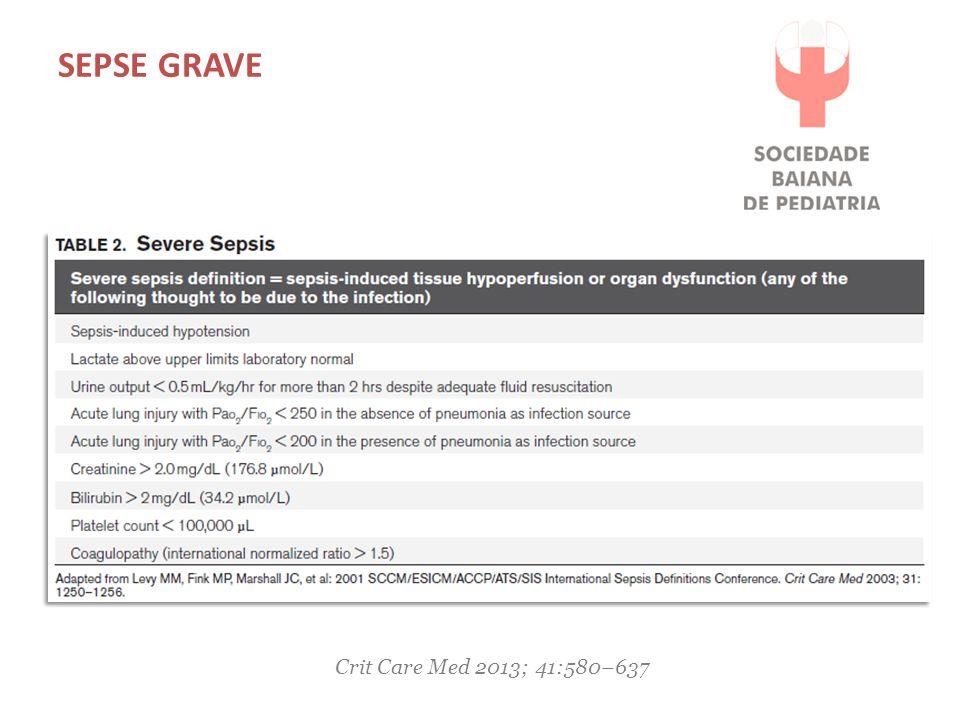 TRATAMENTO Crit Care Med 2013; 41:580–637