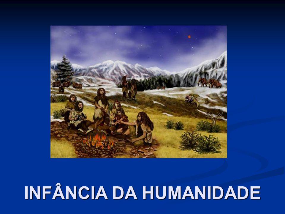 NA INFÂNCIA DA HUMANIDADE, O HOMEM SÓ APLICA SUA INTELIGENCIA NA PROCURA DE ALIMENTOS; DOS MEIOS DE SE PRESERVAR DAS INTEMPÉRIES; SE DEFENDER DOS INIMIGOS.
