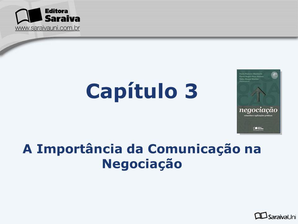 Capítulo 3 A Importância da Comunicação na Negociação