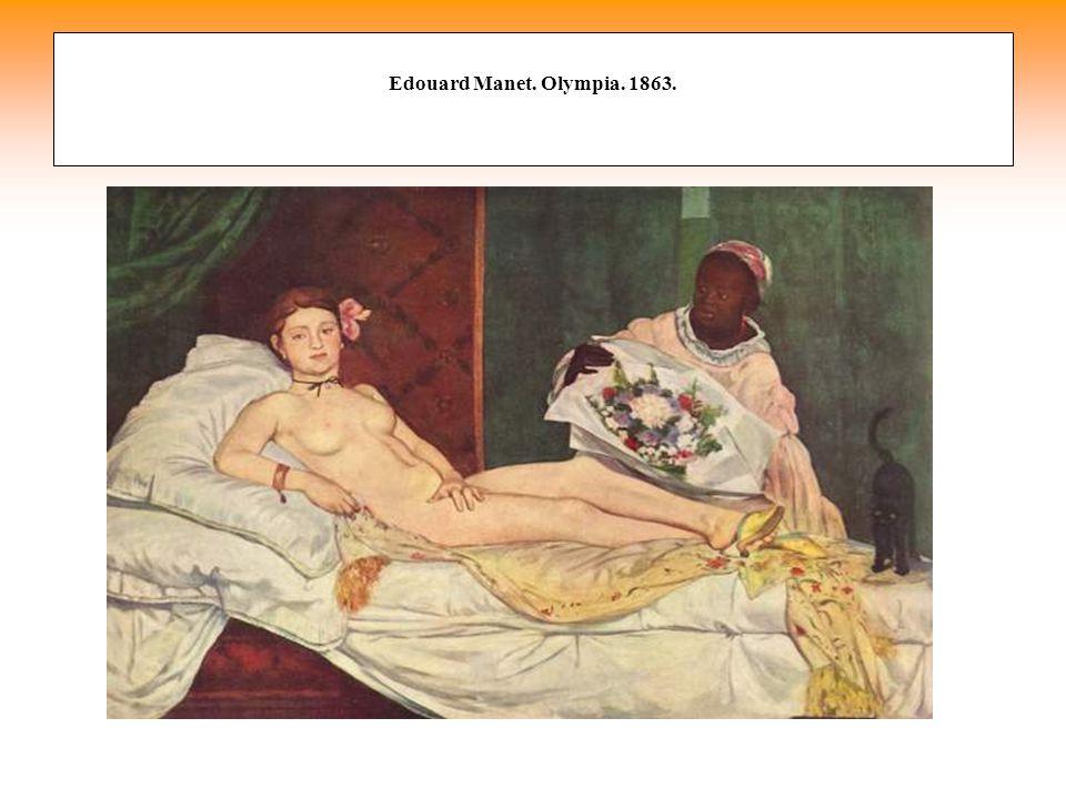 Edouard Manet. Olympia. 1863.