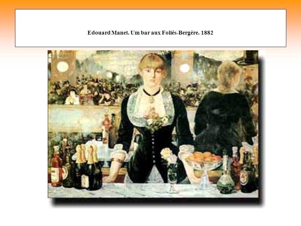 Edouard Manet. Um bar aux Foliés-Bergère. 1882