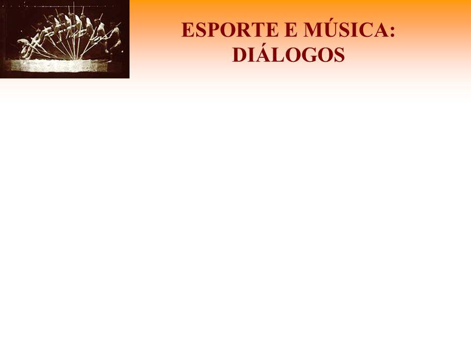 ESPORTE E MÚSICA: DIÁLOGOS
