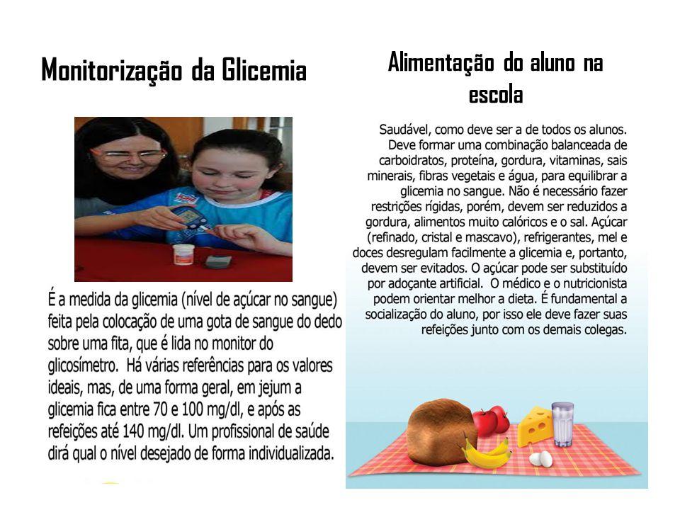 Informações necessárias do aluno diabético para a escola