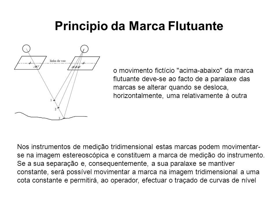 Principio da Marca Flutuante o movimento fictício