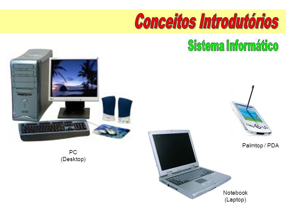 PC (Desktop) Notebook (Laptop) Palmtop / PDA