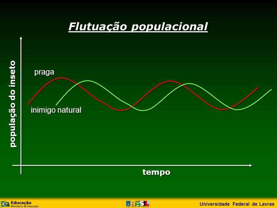 população do inseto tempo Flutuação populacional praga inimigo natural