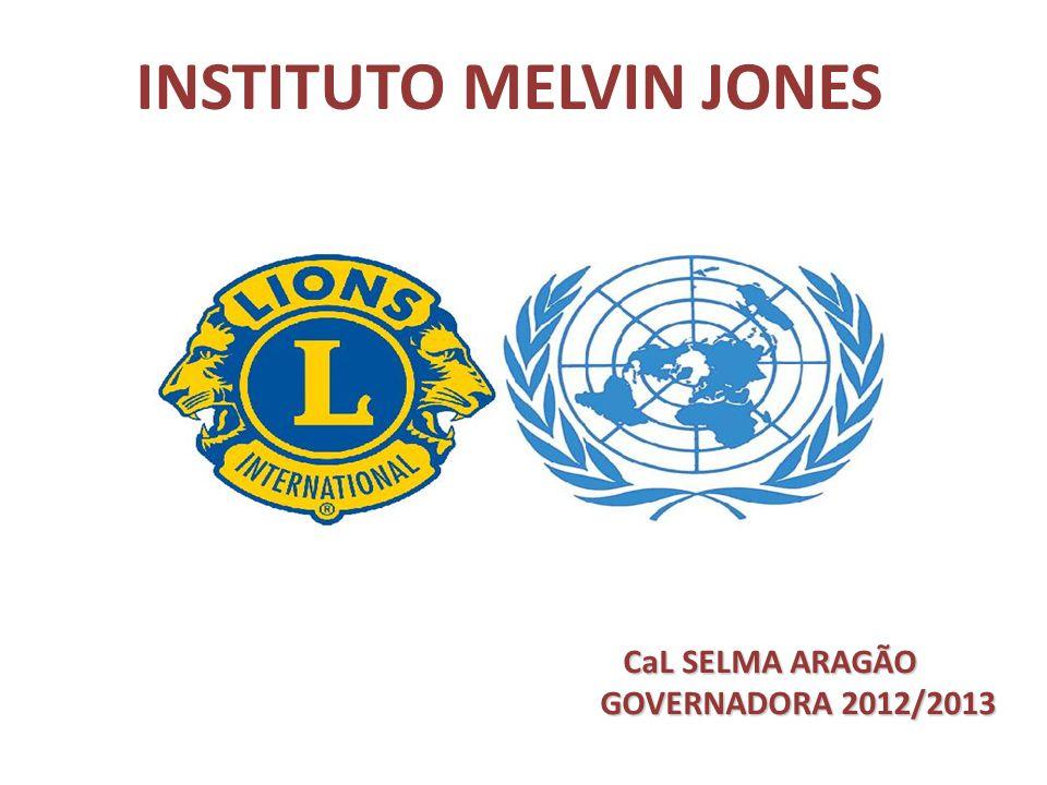 INSTITUTO MELVIN JONES CaL SELMA ARAGÃO CaL SELMA ARAGÃO GOVERNADORA 2012/2013