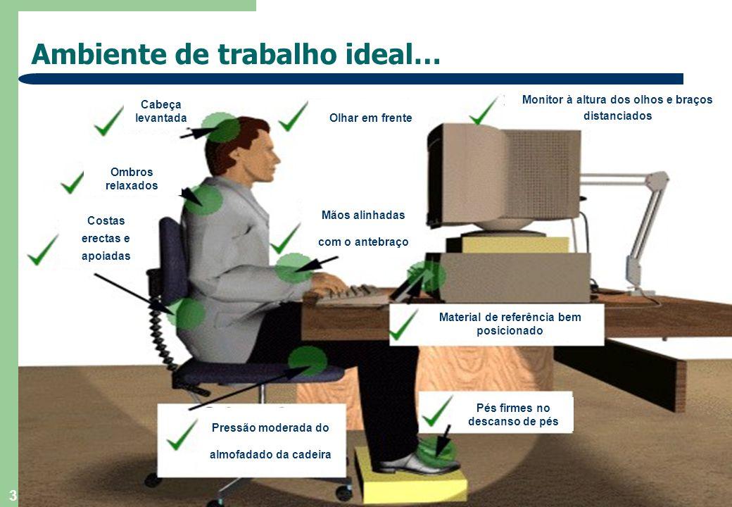 4 …Ambiente de trabalho ideal…  Elimine qualquer reflexo no seu monitor.