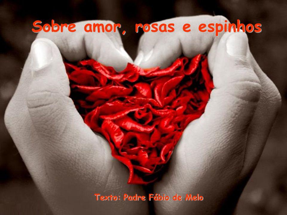 Sobre amor, rosas e espinhos Texto: Padre Fábio de Melo