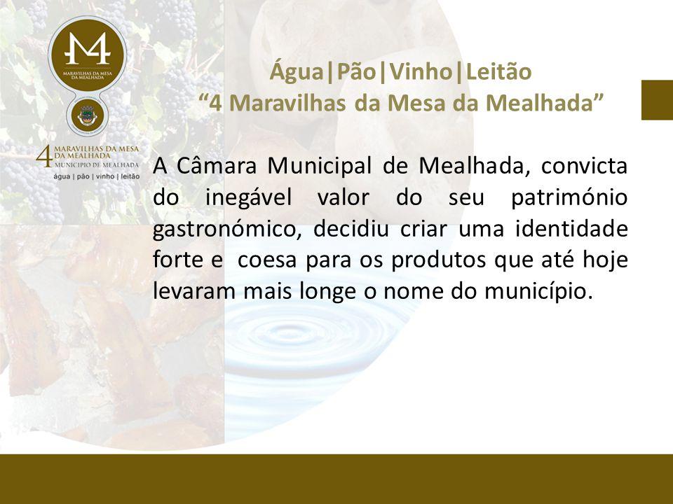 A Câmara Municipal de Mealhada, convicta do inegável valor do seu património gastronómico, decidiu criar uma identidade forte e coesa para os produtos que até hoje levaram mais longe o nome do município.