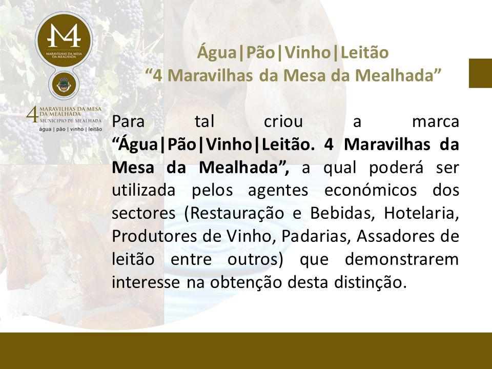 Para tal criou a marca Água|Pão|Vinho|Leitão.