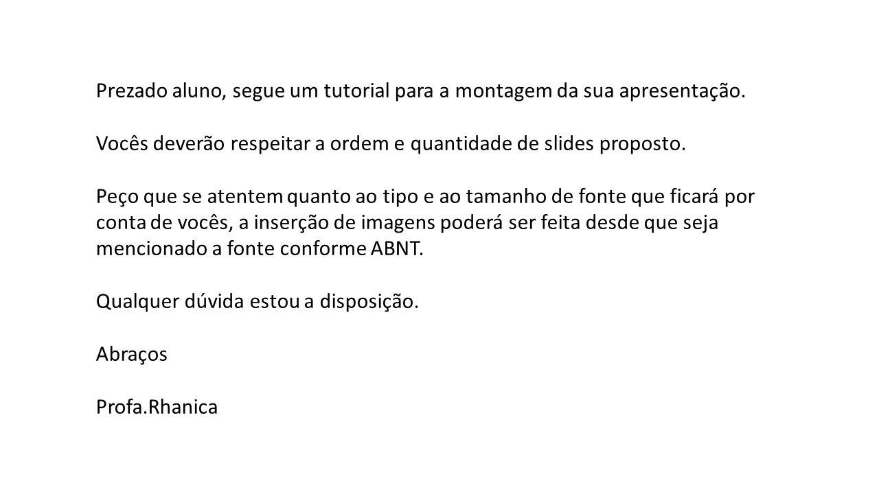 REFERÊNCIAS RIZZATTI, G.
