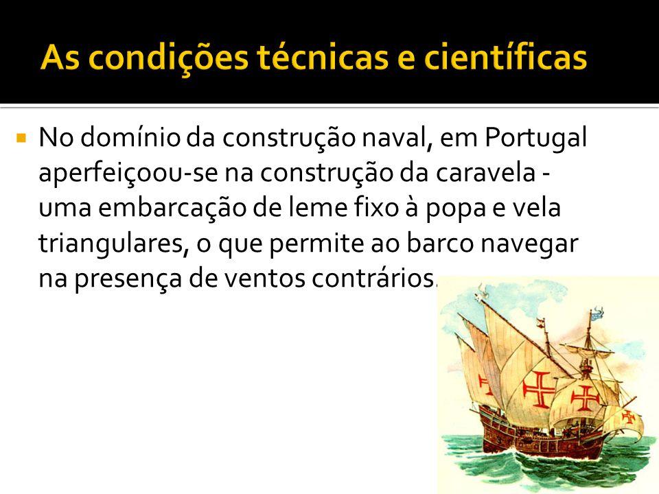  A expansão portuguesa iniciou-se em 1415 com a conquista de Ceuta, cidade Muçulmana do Norte de África, que se tratava de um ponto estratégico para as rotas do comércio internacional e de transporte de cereais.
