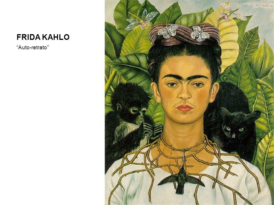 "FRIDA KAHLO ""Auto-retrato"""