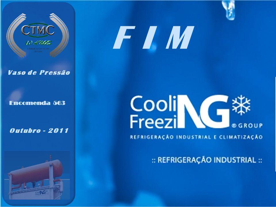 Encomenda 563 Vaso de Pressão Outubro - 2011 FIM